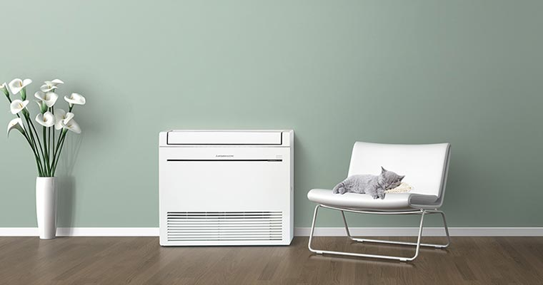 RapidHeat KJ35 Floor Console Heat Pump