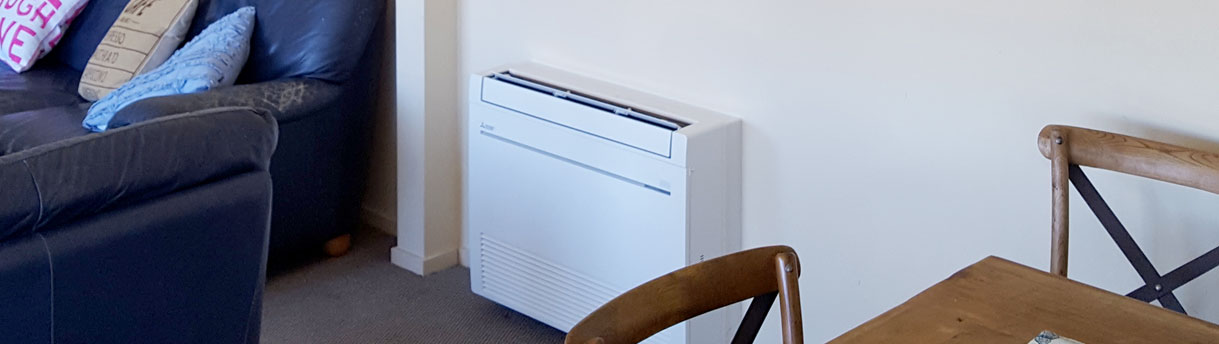 Ideal air conditioning for apartment living in Tauranga