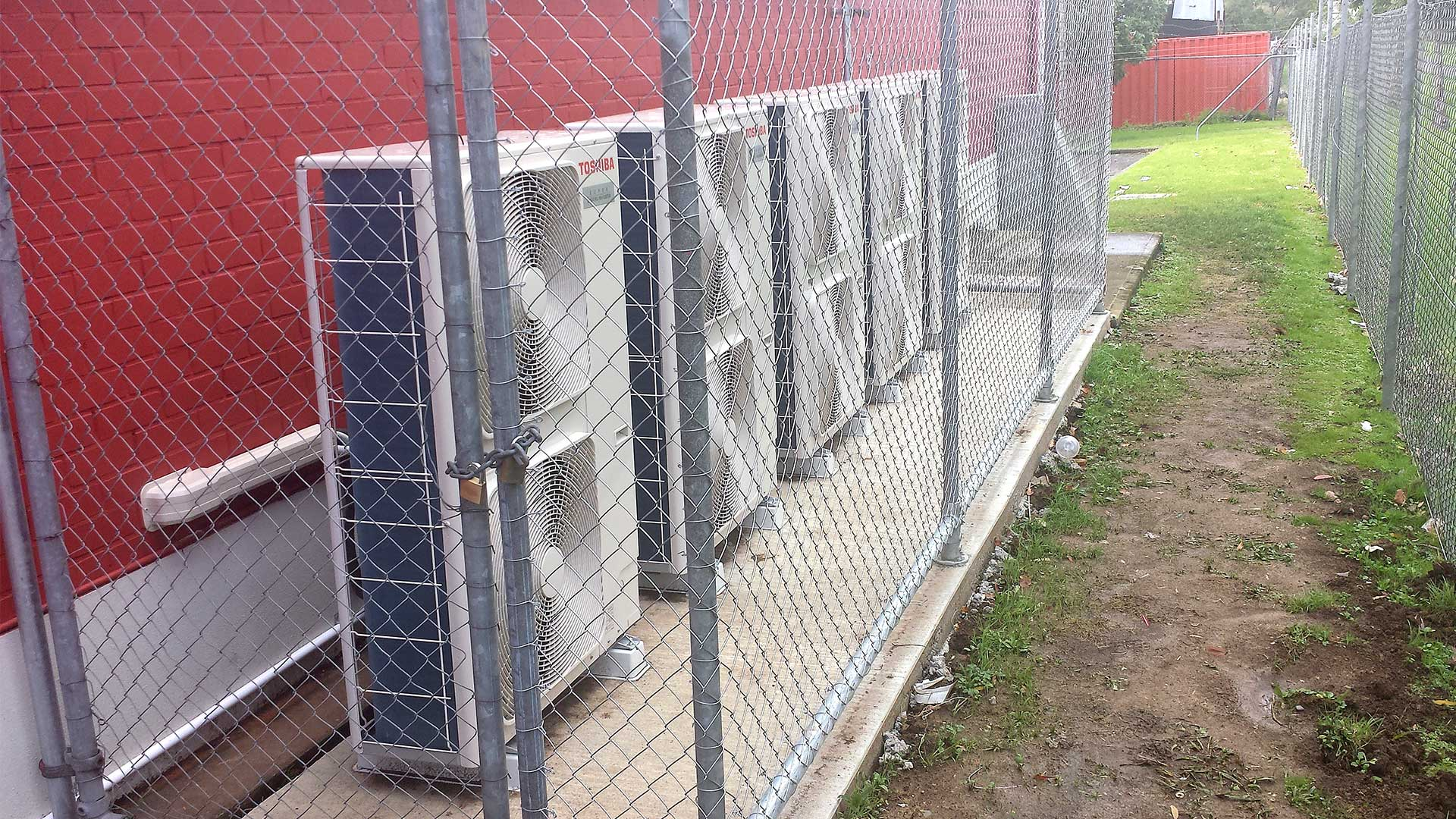 Toshiba air conditioning for commercial premises, Tauranga