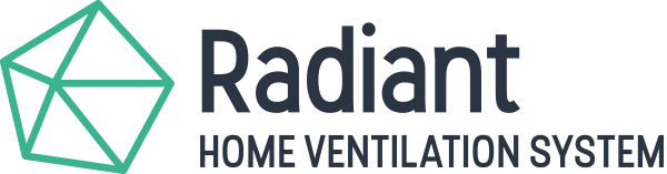 radiant home ventilation system logo std